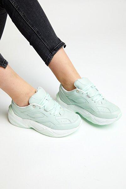 Tonny Black Kadın Spor Ayakkabı Su Yeşili Tb418  40  Su Yeşili