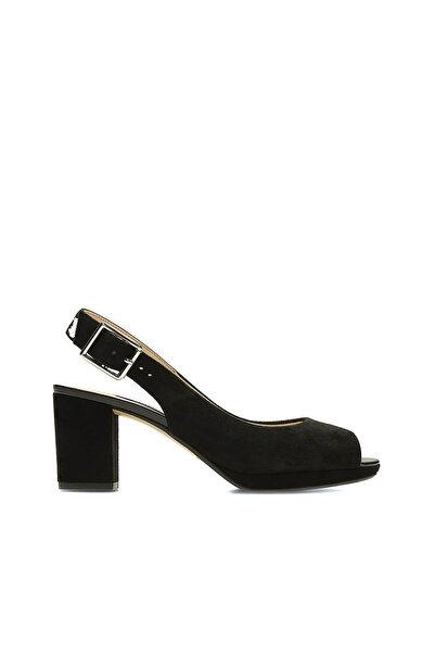 CLARKS Siyah Kadın Kelda Spring Ayakkabı 261235734