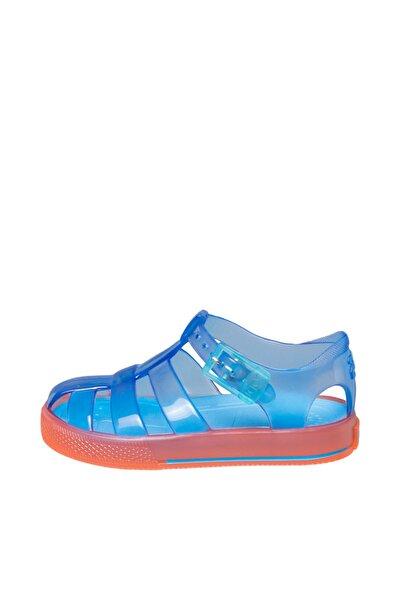 IGOR S10143 Tenis Bicolor Çocuk Mavi Turuncu Sandalet