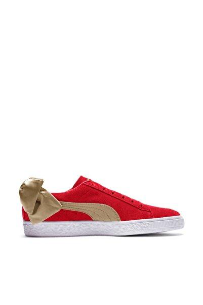 Puma SUEDE BOW VARSITY WN S Kırmızı Kadın Sneaker Ayakkabı 100462643