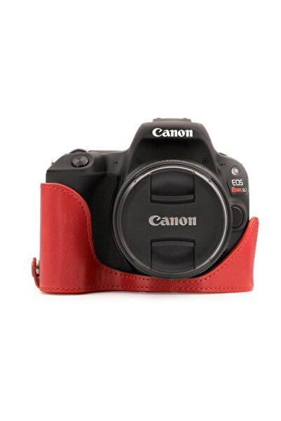 MegaGear MG1306 Canon Eos 200D, 250D (18-55Mm)Eos Rebel SL3, Eos Kiss X10  Deri Kamera Kılıfı