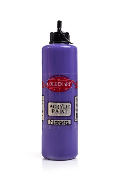 Bigpoint Golden Art Akrilik Boya 500ml - 018 Mor