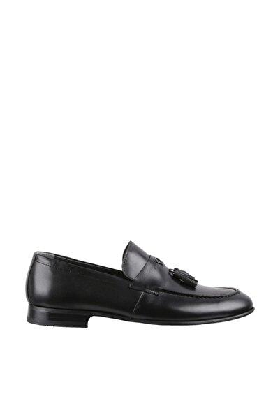 Elegante Erkek Italy Klasik Ayakkabı  130-SİYAH-ANTİK