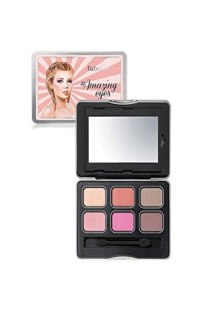Faberlic Amazingeyes Göz Farı Paleti 10 g Pink 4690302418441