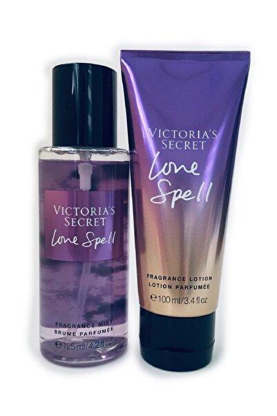 Victoria's Secret Love Spell 125ml Vücut Spreyi + 100 ml Vücut Losyonu For Women 667548313866