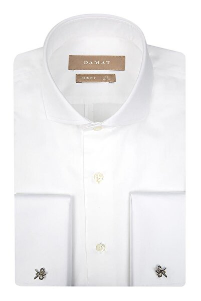 Damat Erkek  Beyaz Gömlek Essentıal 2DFF2SGNC079_801