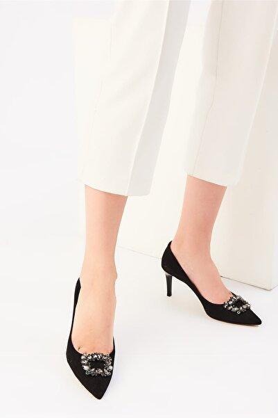 İnci Siyah Kadın Klasik Topuklu Ayakkabı 120130008701