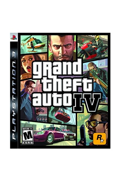 RockStar Games Gta 4 IV Ps3 Oyun