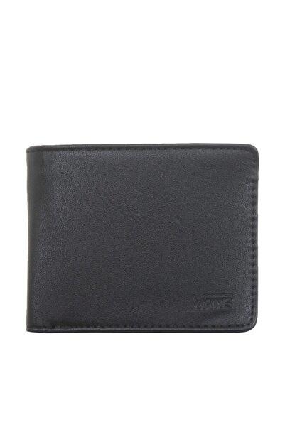 Vans Erkek Cüzdan Siyah - Drop V Bıfold Wallet  - 0A31J8BLK1