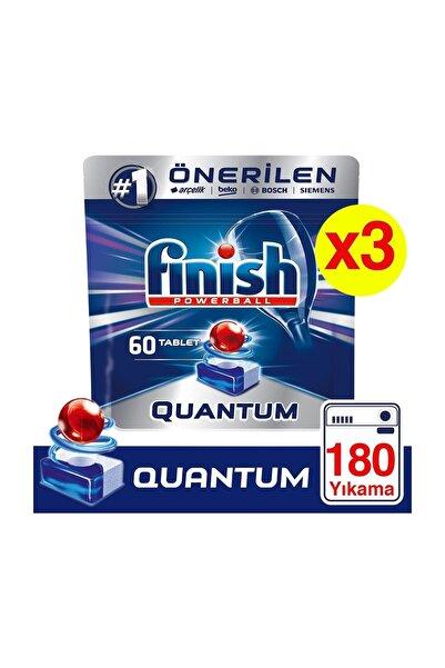 Finish Quantum180 Tablet Bulaşık Makinesi Deterjanı (60x3)