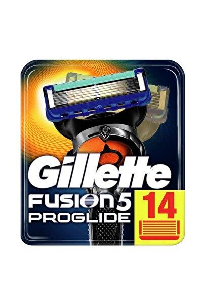 Gillette Fusion Proglide Yedek Tıraş Bıçağı Karton Paket 14'Lü