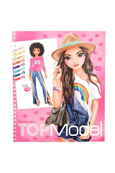 Top Model Tasarım Boyama Kitabı 10203