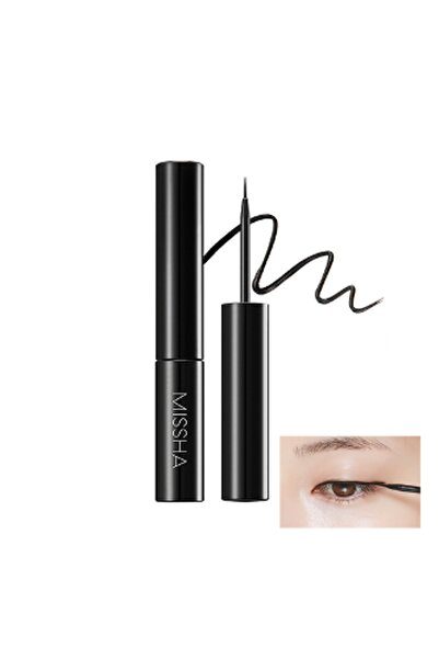 Missha Suya Dayanıklı Likit Eyeliner Liquid Sharp Liner 8809581445819