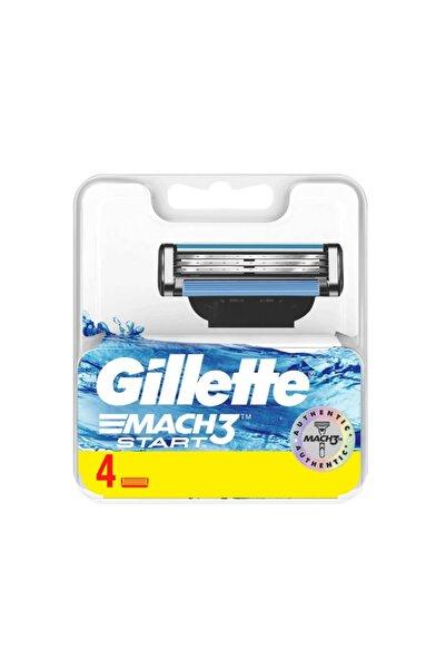 Gillette Mach3 Start 1Up Yedek Başlığı 4 Adet