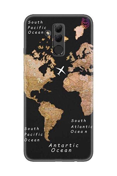 Wolf Dizayn Huawei Mate 20 Lite -Old Map