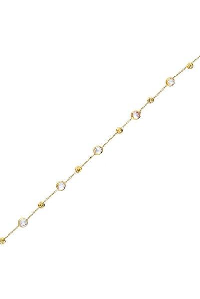 Glorria Kadın Altın Taşlı Bileklik CM0629