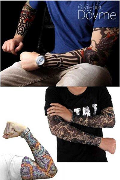 Keyfi Sepet Giyilebilir Dövme ( 2 Adet )