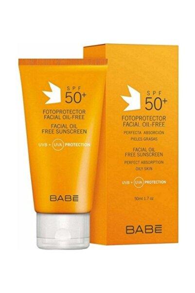 Babe Facial Oil Free Spf 50+ Yüz İçin Yağsız Güneş Koruma Kremi