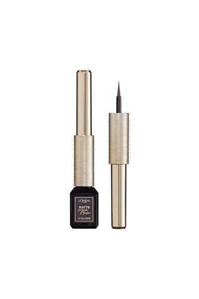 L'Oreal Paris Mat Eyeliner - Matte Signature Eyeliner 06 Greige 30175273