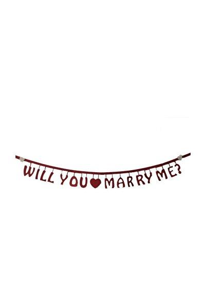 Parti dolabı Evlilik Teklifi Benimle Evlenir Misin İngilizce Will You Marry Me