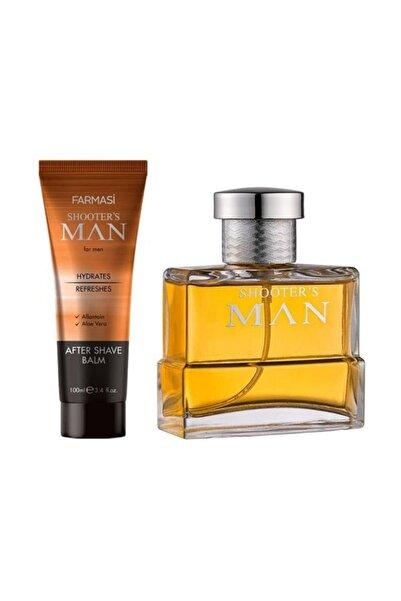 Farmasi Shooter S Erkek Man Edp Parfüm + Traş Sonrası Losyonu