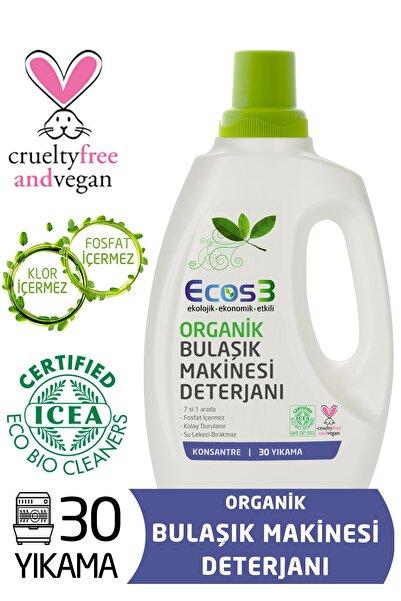 Ecos3 Organik Otomatik Bulaşık Makinesi Jeli (30 Yıkama)