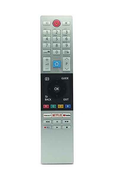 Toshiba Ct-8528 Rakuten Tv Youtube Netflix Tuşlu Tv Uzaktan Kumanda