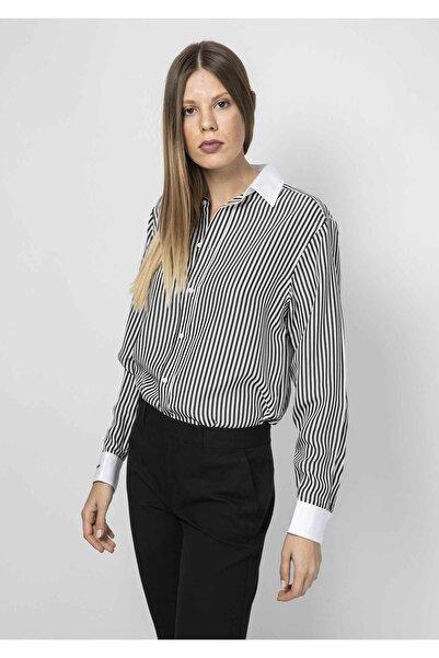 Polo Ralph Lauren Kadın Siyah Gömlek 4293944442932