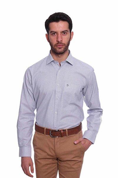 Diandor Uzun Kollu Erkek Gömlek Gri 1912017