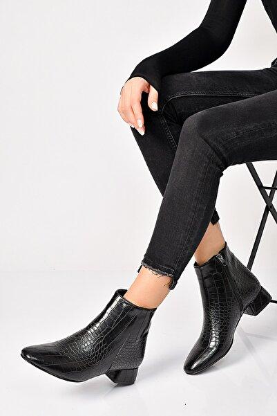 Shoes Time Siyah Kadın Bot 19K 547