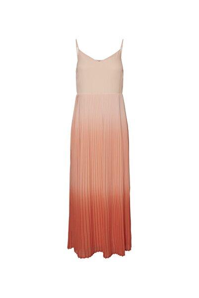 Vero Moda Kadın Şeftali Elbise 10223563 VMAVA 10223563