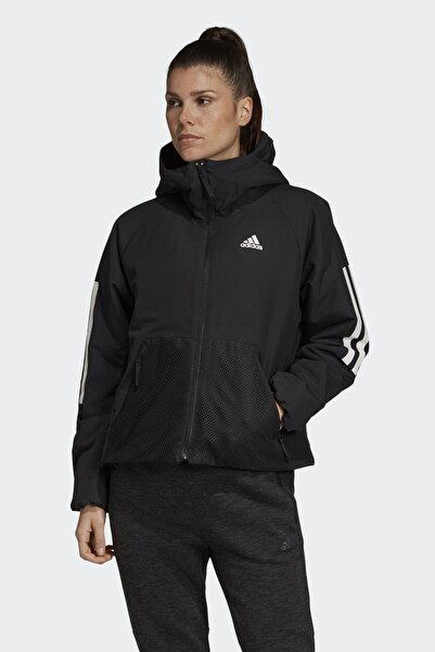 adidas Back-to-Sports 3S Kadın Siyah Ceket (DZ1518)