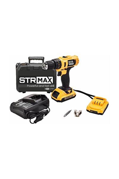 StrMax STR-2405D 24v 5Ah HD Li-iON Akülü Darbeli Matkap