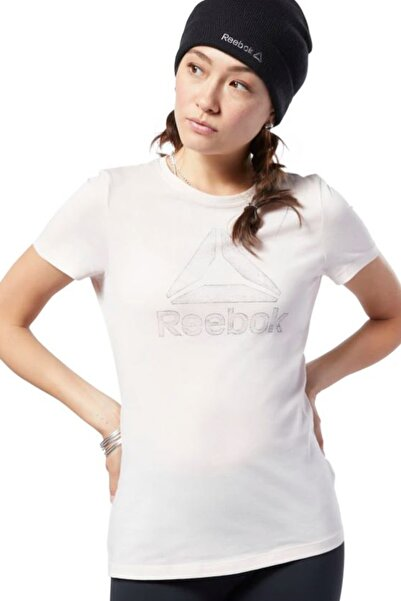 Reebok GS TRACED DELTA CREW TEE Pembe Kadın T-Shirt 100479557