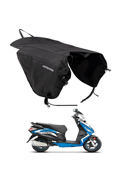 Carneil Motosiklet Scooter Diz Bacak Rüzgar Koruyucu Yağmurluk Örtüsü