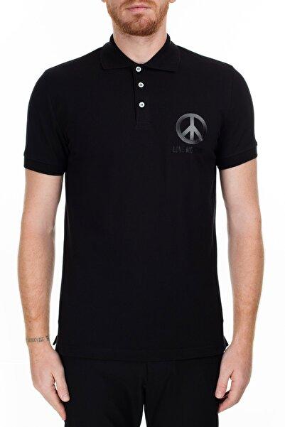 Love Moschino Erkek Siyah T-Shirt S M829519E1809 C74