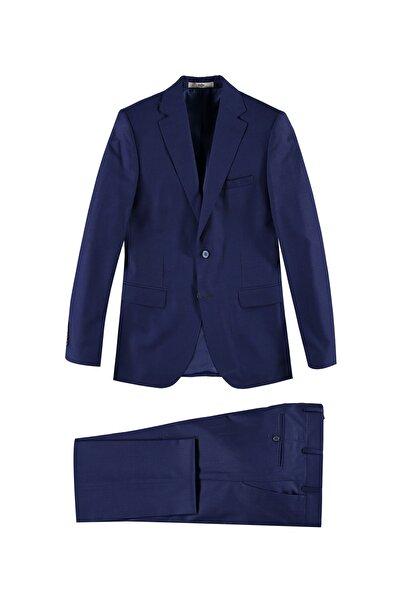 Kiğılı Regular Fit Desenli Takım Elbise