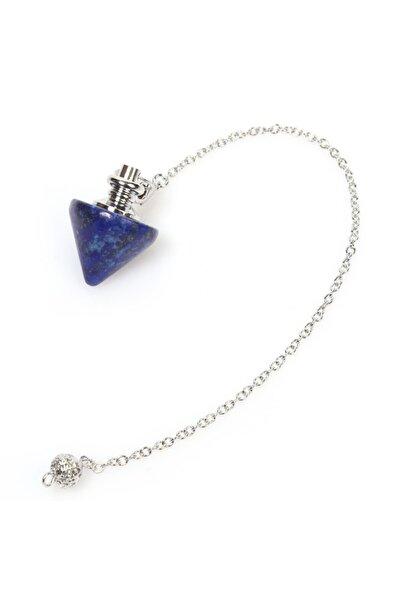 Serap Yılmaz Sahi Doğal Lapis Lazuli Doğal Taş Pandül (SARKAÇ)