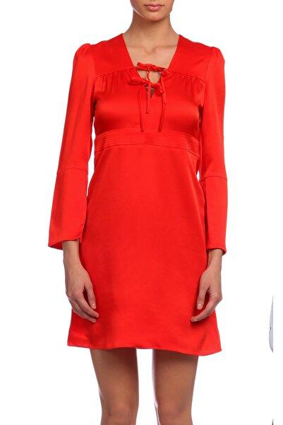 Maje Kadın Kırmızı Elbise Maje16Rahon-0515-Rouge