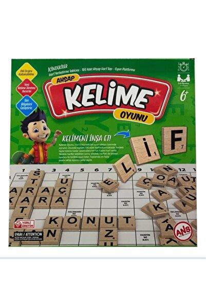 ANS TOYS Kelime Oyunu, Sağlıklı Eğitici Oyuncak, Zeka Oyunu