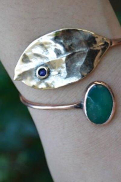 Stoneage Jewellery Yeşim Taşlı Tasarım Bileklik