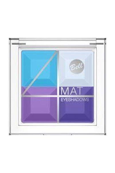 Bell Multicolour Matte Eyeshadows 4'lü Göz Farı 05