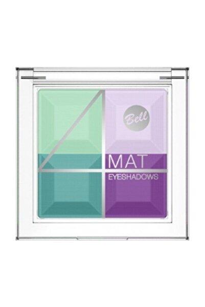 Bell Multicolour Matte Eyeshadows 4'lü Göz Farı 04