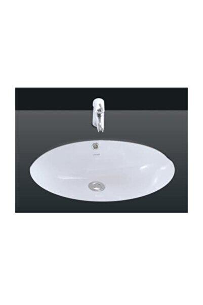 Creavit Tp216 Tezgah Altı Oval Lavabo 37 x 51 cm Beyaz