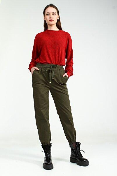 Collezione Kadın Haki Pantolon Zera UCB021840A44