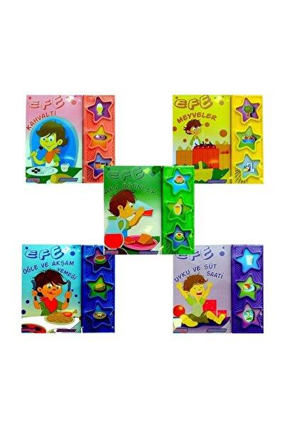 Bebeklik Yayınları Efe Serisi - Sesli Kitap (5 Ürün)