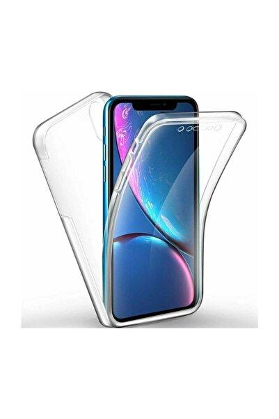 Kılıfreyonum Huawei Y6 2019 Ön Arka Şeffaf 360 Derece Tam Korumalı Kılıf