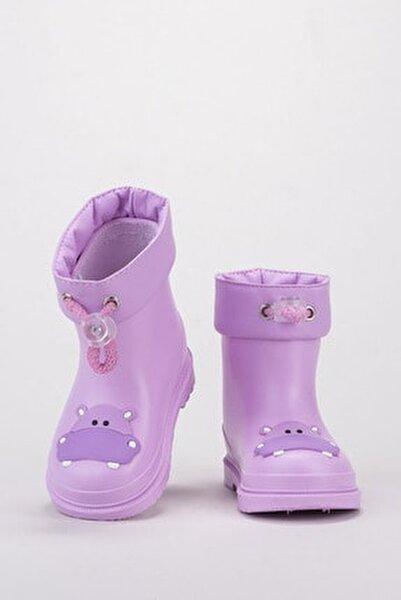 Bimbi Hipo Çocuk Yağmur Çizmesi Lila