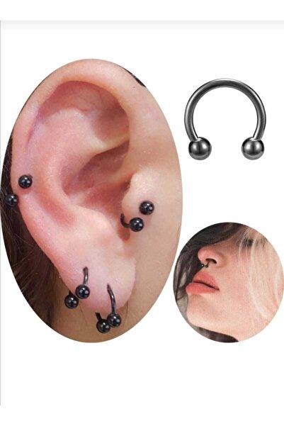 Araz piercing Kıkırdak Tragos Septum Piercingi