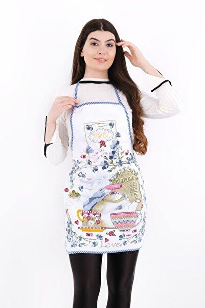 sevilya Pamuk - Welcome To My Kitchen Sıvı Geçirmez Mutfak Önlüğü